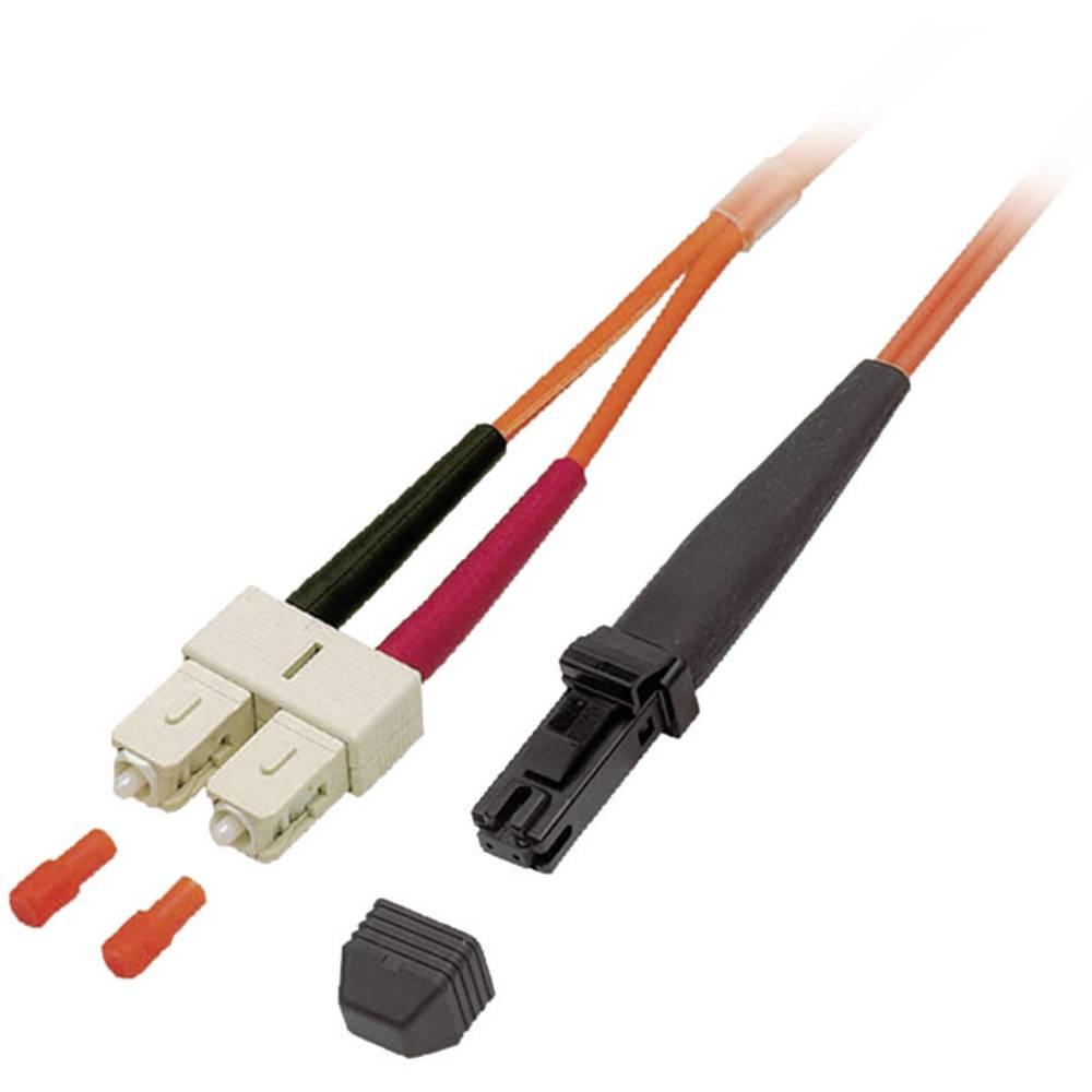 Optični priključni kabel [1x MTRJ vtič - 1x SC vtič] 62,5/125µ Multimode OM1 15 m EFB Elektronik