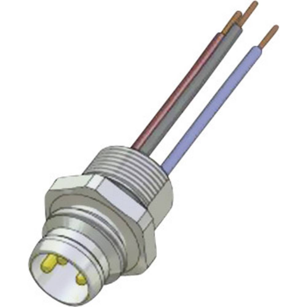 Sensor- /aktor-stikforbinder til indbygning Conec SAL-8-FS3-0,2 1 stk