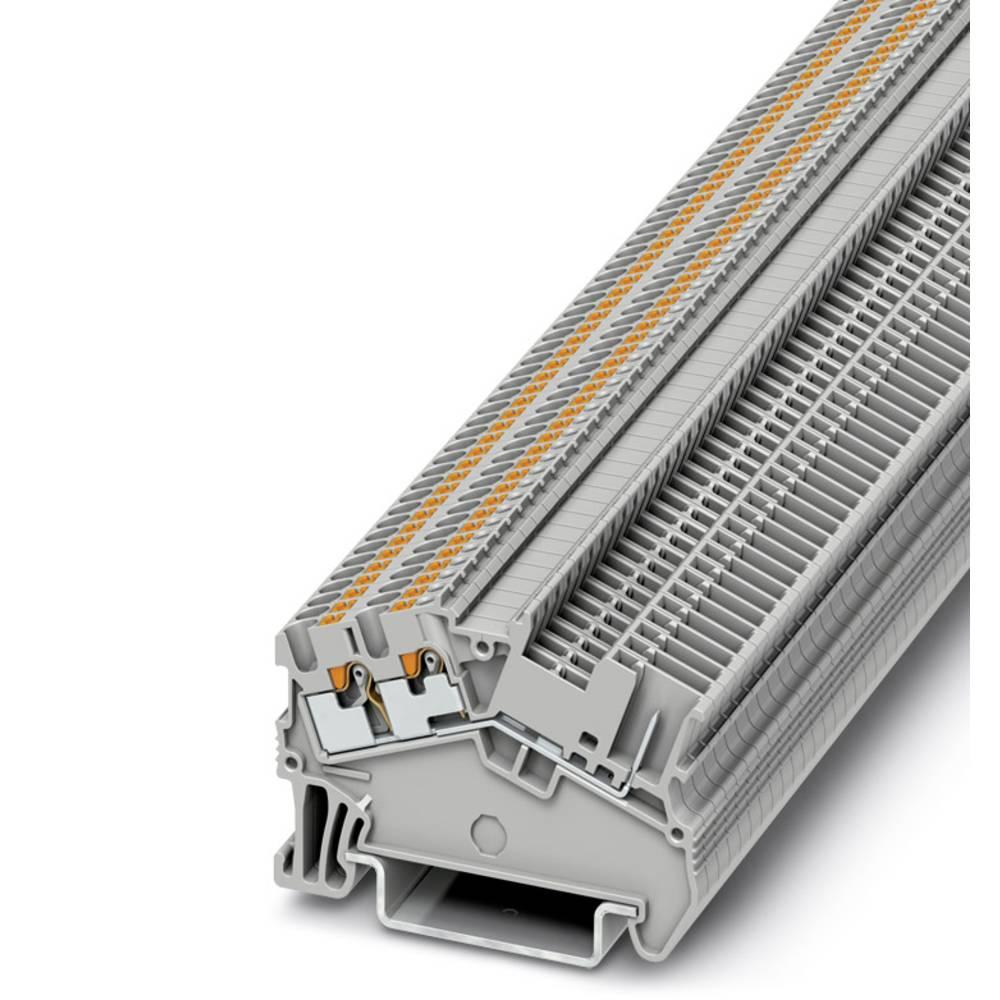 PTS 1.5 / S-TWIN / 1P - gennem terminal Phoenix Contact PTS 1,5/S-TWIN/1P Grå 50 stk