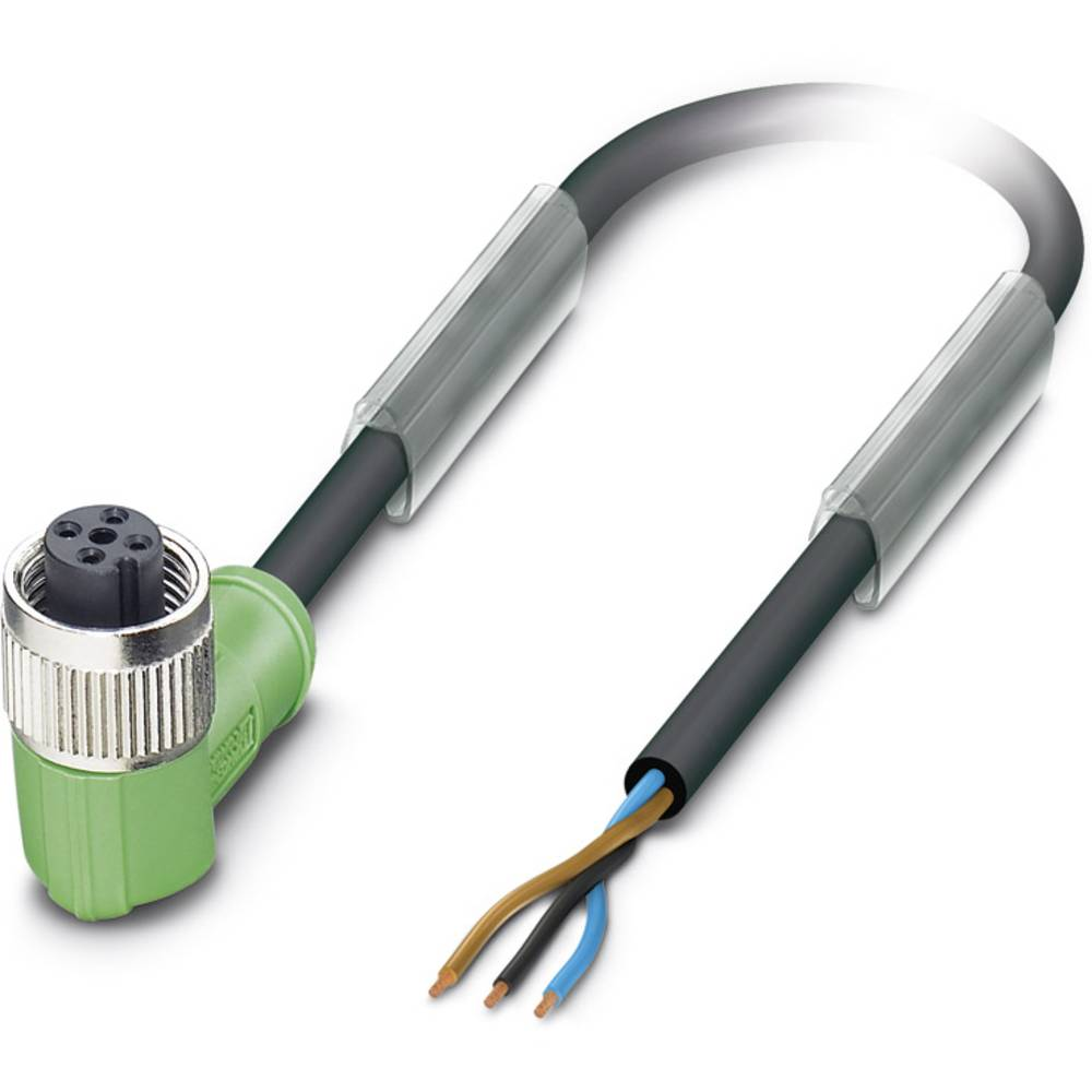 Senzorski/aktuatorski kabel SAC-3P-10,0-PUR/M12FR B Phoenix Contact vsebuje: 1 kos