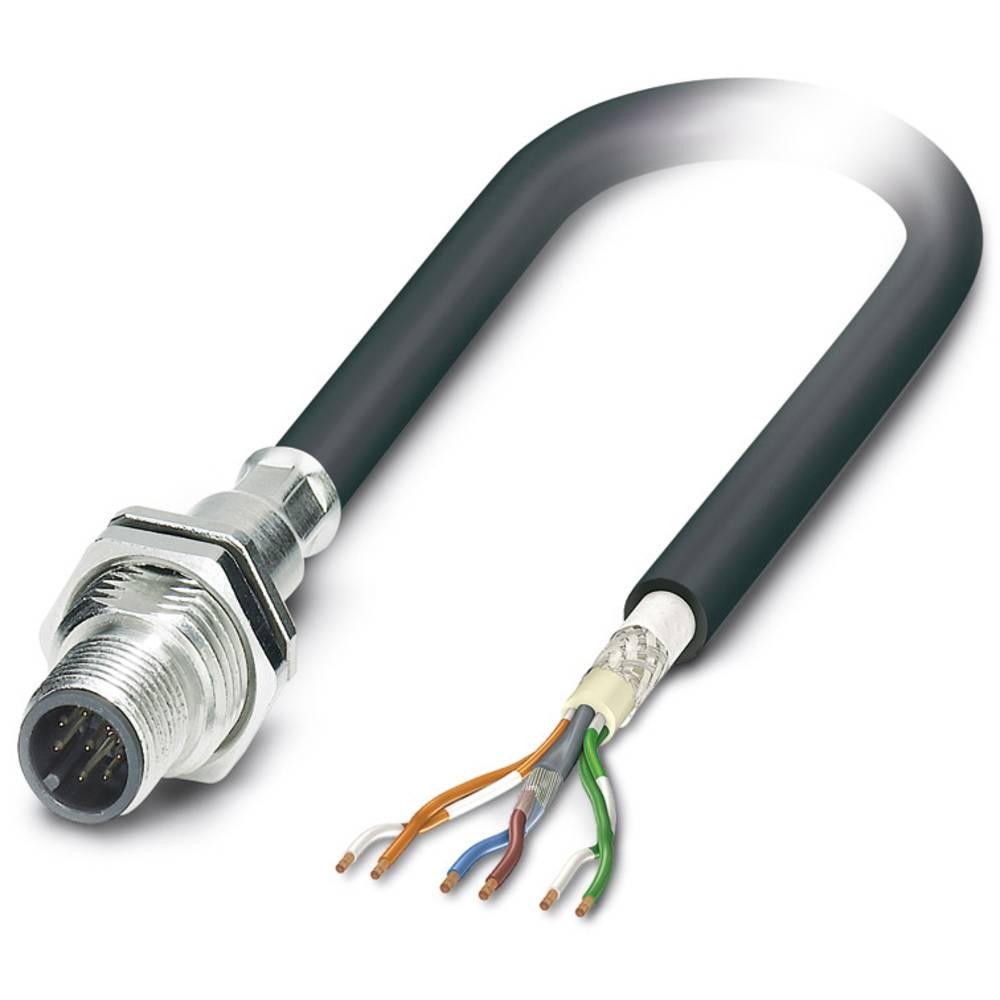 S-bus-vgradni vtični konektor, SACCBP-M12MS-6CON-M16/0,5-970 Phoenix Contact vsebuje: 1 kos