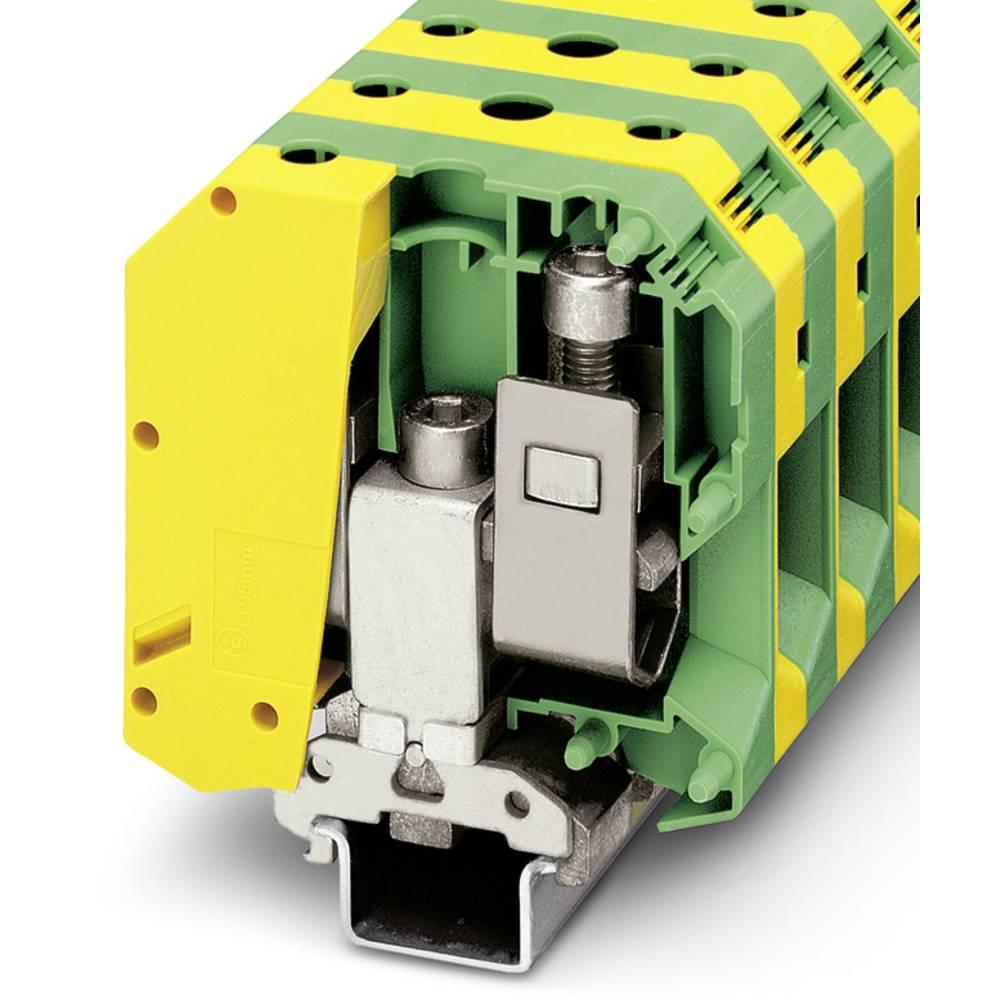 USLKG 95 B - Beskyttende leder klemrække Phoenix Contact USLKG 95 B Grøn-gul 10 stk
