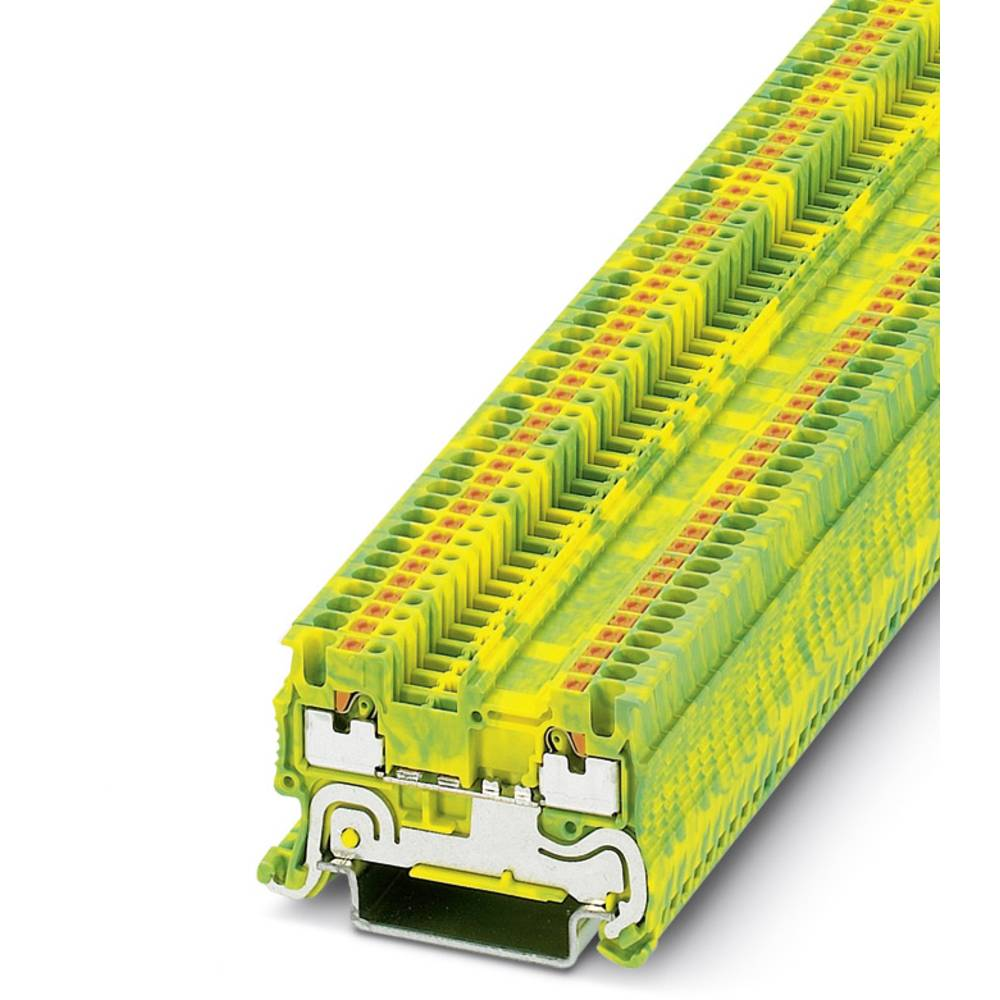 PT 1.5 / S-PE - beskyttelsesleder klemrække Phoenix Contact PT 1,5/S-PE Grøn-gul 50 stk