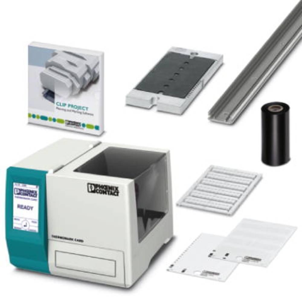 THERMOMARK CARD KIT GH - begyndere kort Printer THERMOMARK CARD KIT-GH Phoenix Contact Indhold: 1 stk