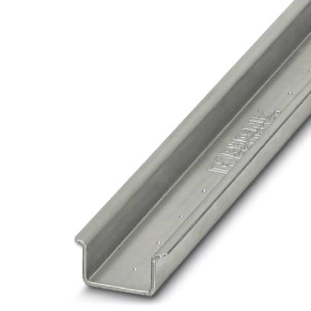 NS 35/15 til 2,3 UNPERF 2000mm - Skinne NS 35/15-2,3 UNPERF 2000MM Phoenix Contact Indhold: 5 stk