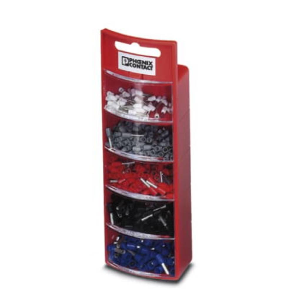 Sortiment kabelski završetaka 0.5 mm 2.5 mm bijele, sive, crvene, crne, plave boje Phoenix Contact 3202960 400 kom.