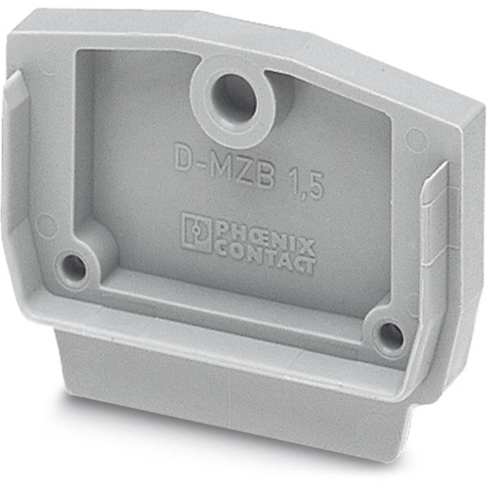 End cover D-MZB 1,5 BU D-MZB 1,5 BU Phoenix Contact Indhold: 50 stk