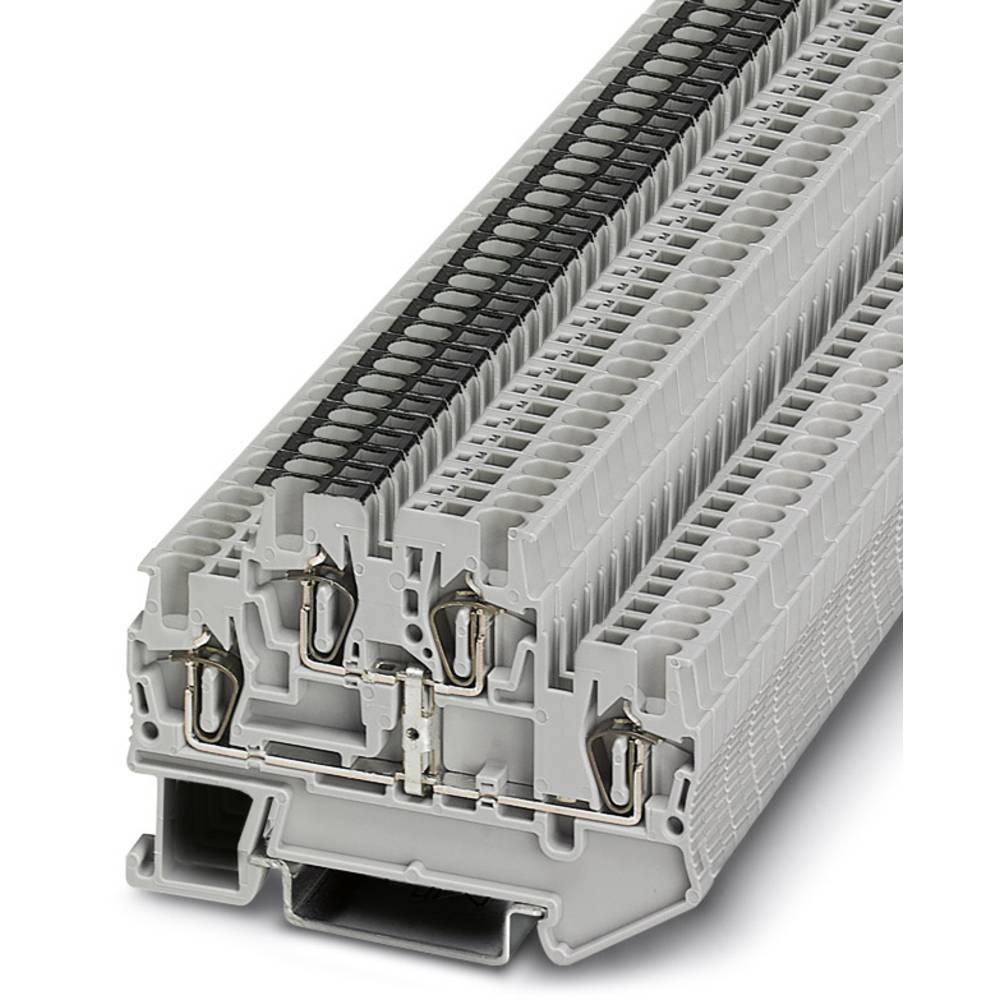 Feed-through terminal block STTB 1,5-PV Phoenix Contact STTB 1,5-PV Grå 50 stk