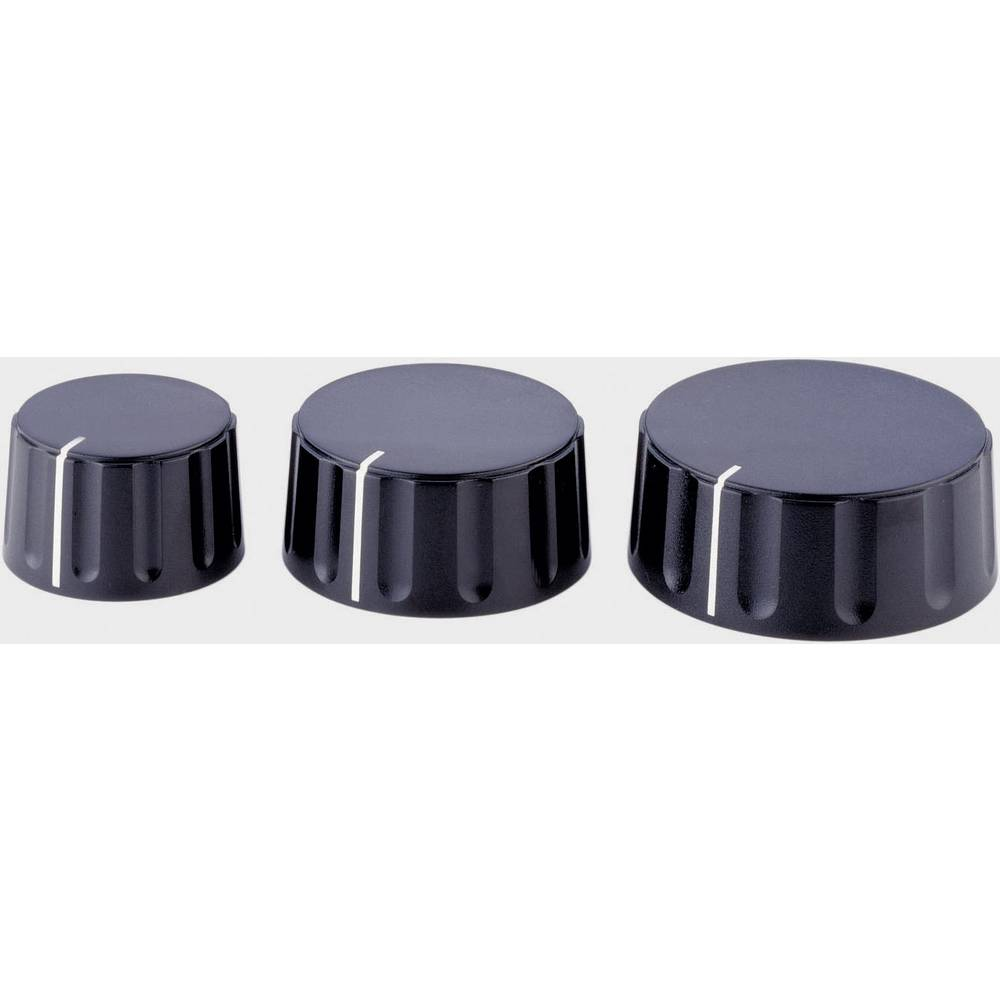 ALPs Gumb crna promjer osi 6mm 867000