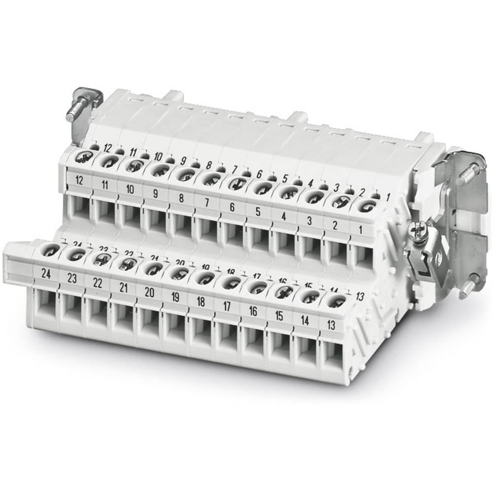 HC-B 24-A-UT-PEL-F - Terminal Adapter Phoenix Contact HC-B 24-A-UT-PEL-F 5 stk