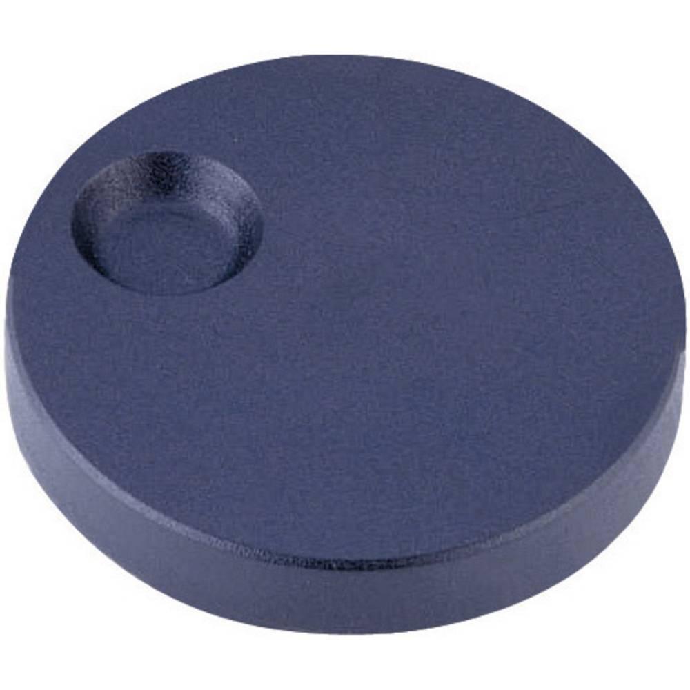 ALPs Rotirajući gumb s utoromza prst, priključak za montažu, antracit, promjer osi 6mm 863002