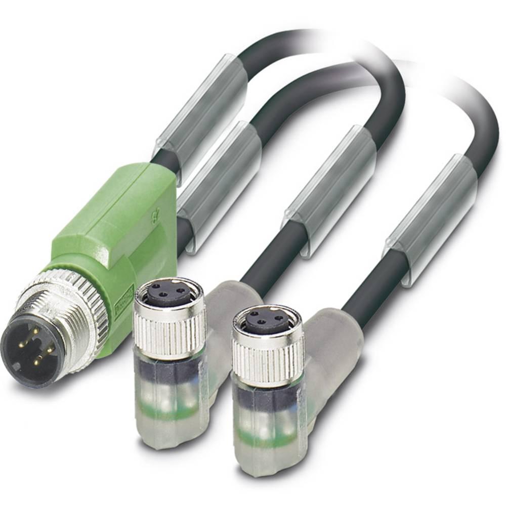 Senzorski/aktuatorski kabel SAC-3P-M12Y/2X3,0-PUR/M 8FR-2L Phoenix Contact vsebuje: 1 kos