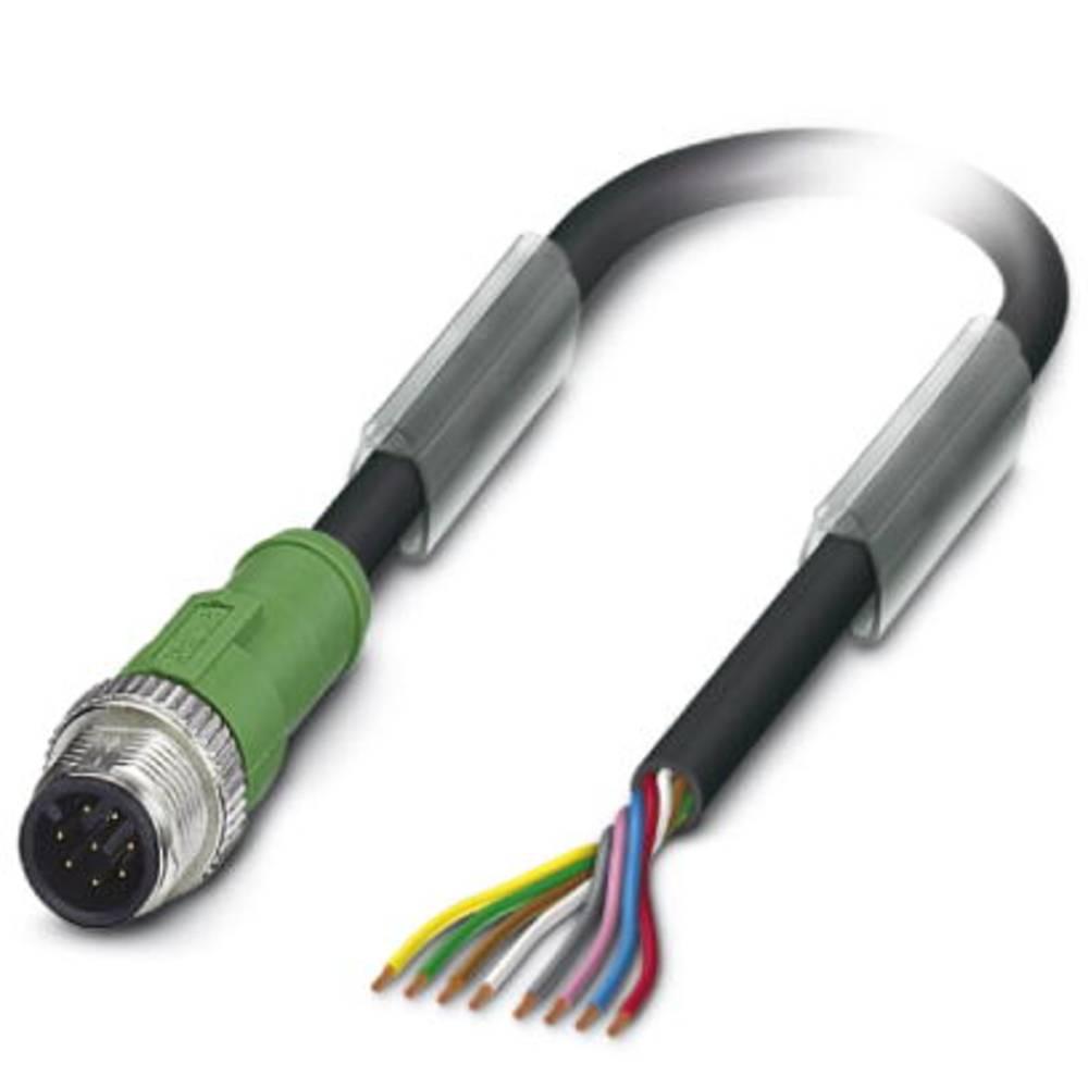 Sensor-, aktuator-stik, Phoenix Contact SAC-8P-M12MS/ 1,5-PUR 1 stk