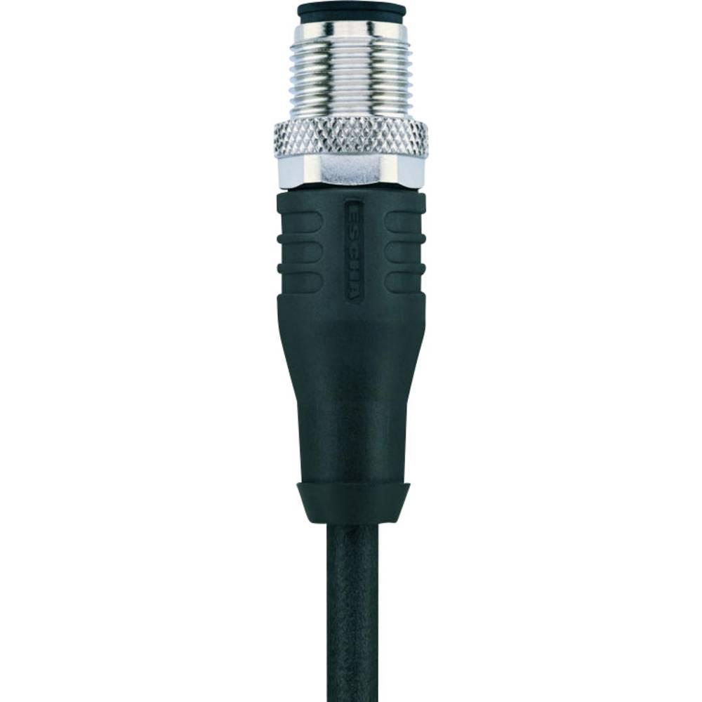 Senzorsko-aktuatorski kabel AUTOMATION LINE, oklopljen št.polov: 8 AL-WASS8-5/S370 Escha vsebina: 1 kos