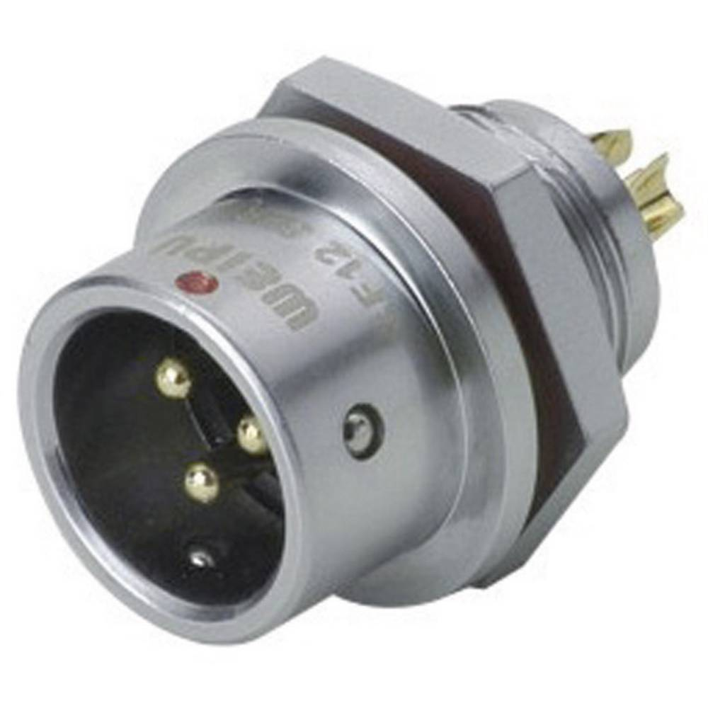 Okrogli konektor za hitro ločevanje Weipu SF1212/P9, IP67, nazivni tok: 3 A, poli: 9