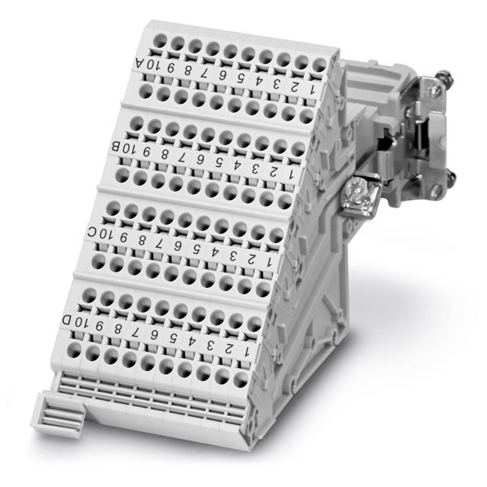 HC-D 40-A-TWIN-PEL-F - Terminal Adapter Phoenix Contact HC-D 40-A-TWIN-PEL-F 4 stk