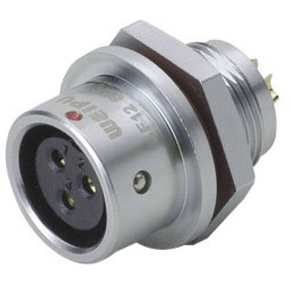 Okrogli konektor za hitro ločevanje Weipu SF1212/S3, IP67, nazivni tok: 13 A, poli: 3
