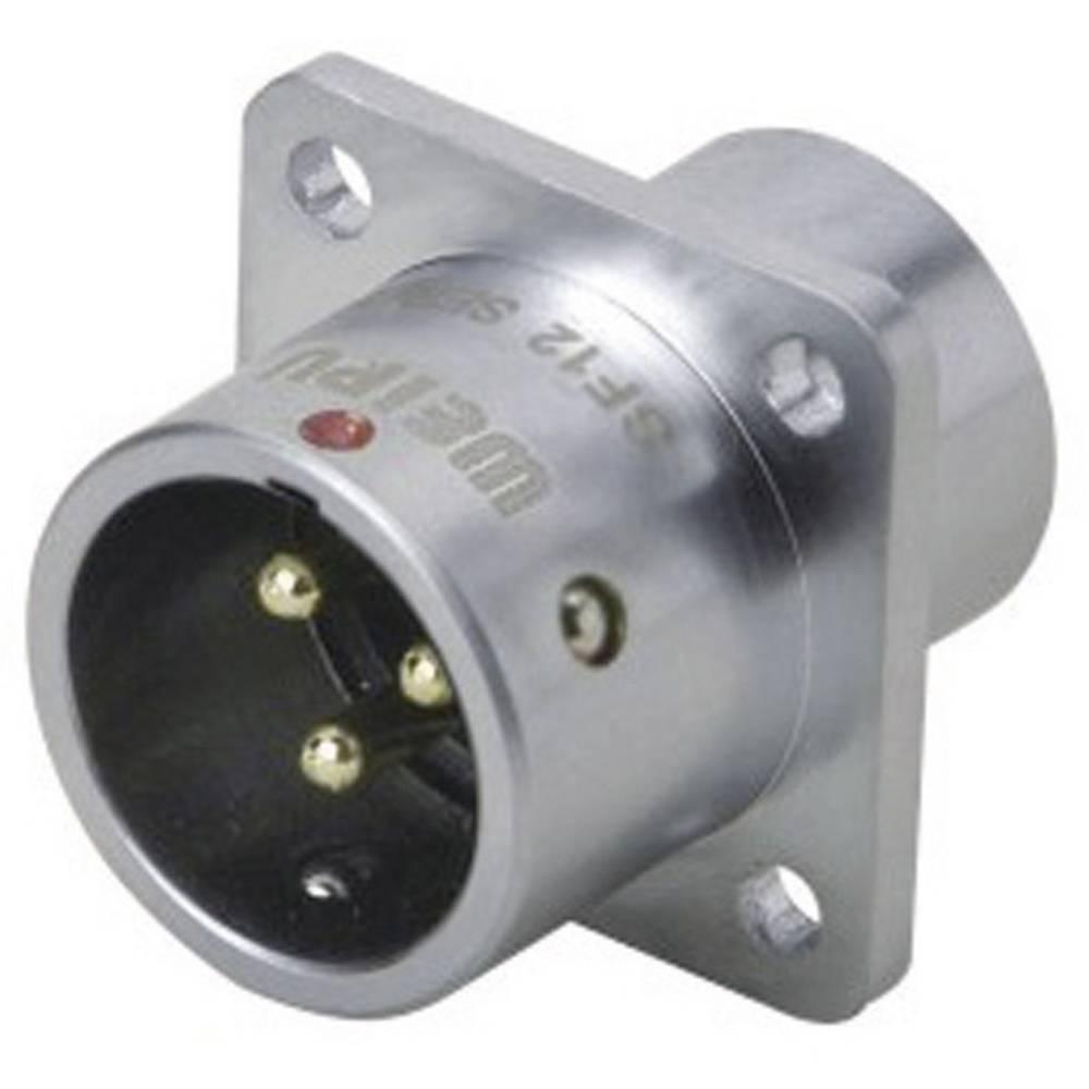 Okrogli konektor za hitro ločevanje Weipu SF1213/P7, IP67, nazivni tok: 5 A, poli: 7