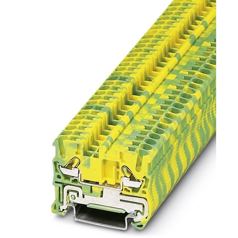 DT 2,5-PE - direkte line-jordleder terminal Phoenix Contact DT 2,5-PE Grøn-gul 50 stk