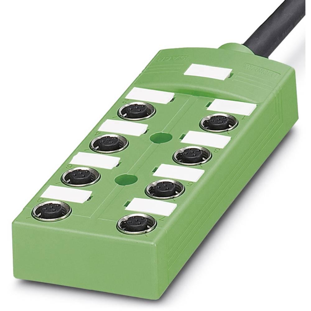 SACB-8/ 8- 5,0PUR SCO - škatla za senzorje/aktuatorje SACB-8/ 8- 5,0PUR SCO Phoenix Contact vsebuje: 1 kos