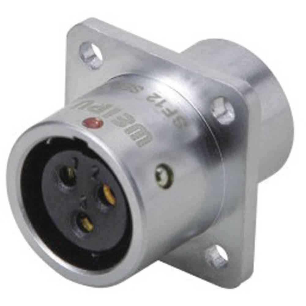 Okrogli konektor za hitro ločevanje Weipu SF1213/S5, IP67, nazivni tok: 5 A, poli: 5