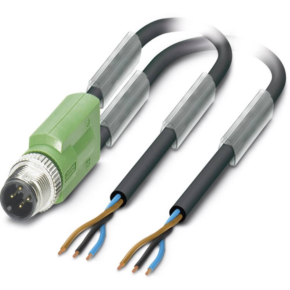 Sensor-, aktuator-stik, Phoenix Contact SAC-3P-M12Y/2X1,5-PUR 1 stk
