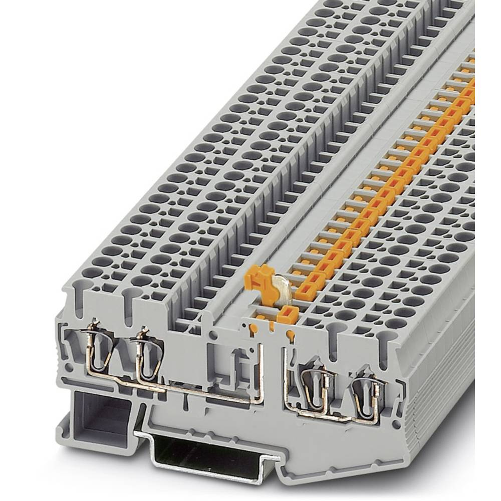 ST 2,5-QUATTRO-MT OG - kniv afbryde terminal Phoenix Contact ST 2,5-QUATTRO-MT OG Orange 50 stk