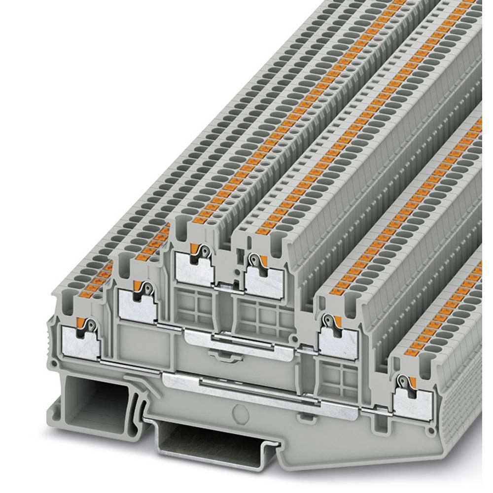 PT 1.5 / S-3L - multi-level terminal Phoenix Contact PT 1,5/S-3L Grå 50 stk
