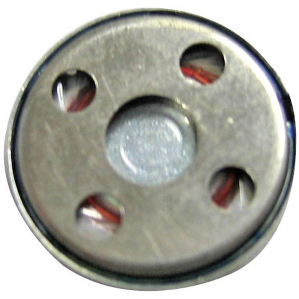 Miniaturni zvučnik, glasnoča:83 + 3 dB,