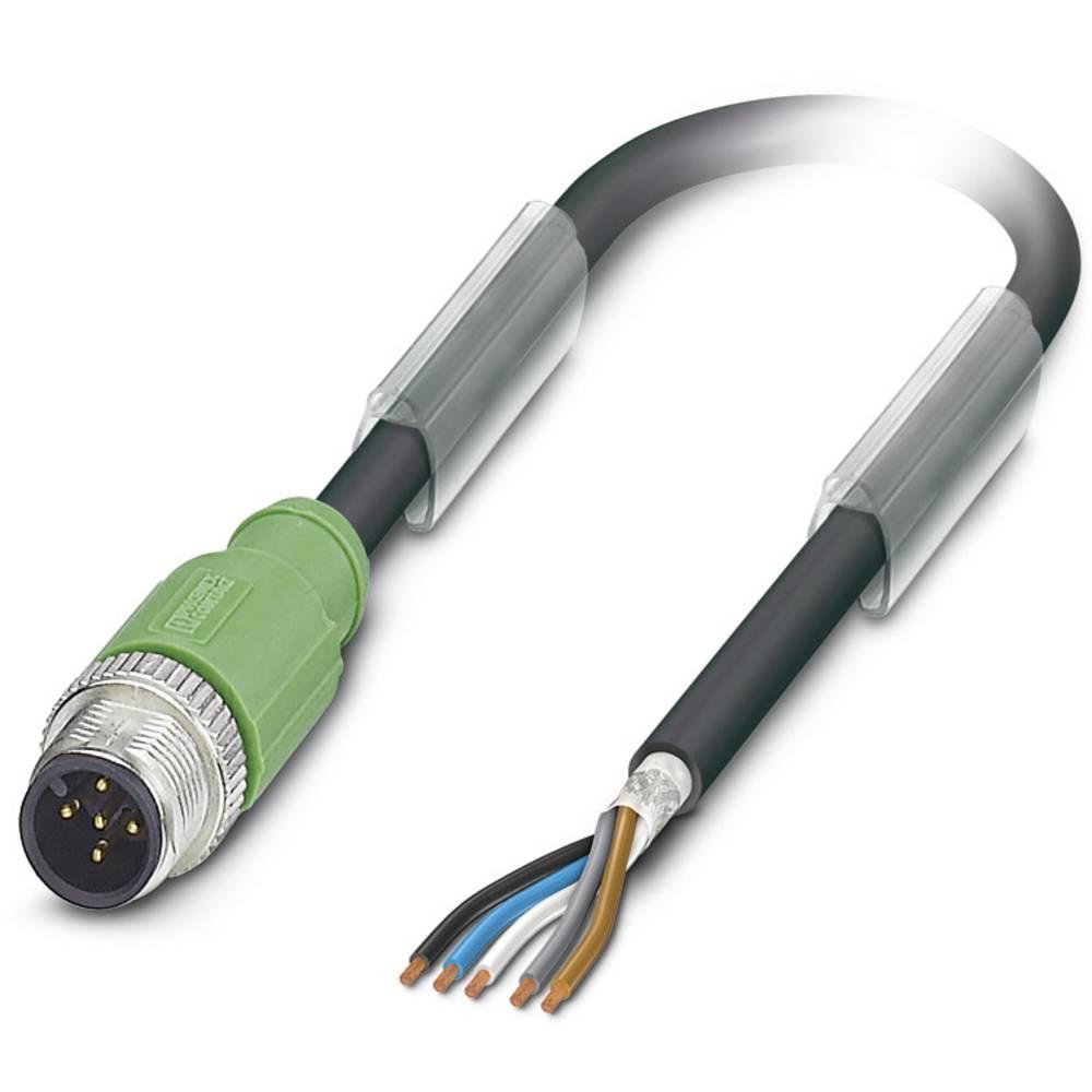 Senzorski/aktuatorski kabel SAC-5P-M12MS/ 5,0-PUR SH Phoenix Contact vsebuje: 1 kos