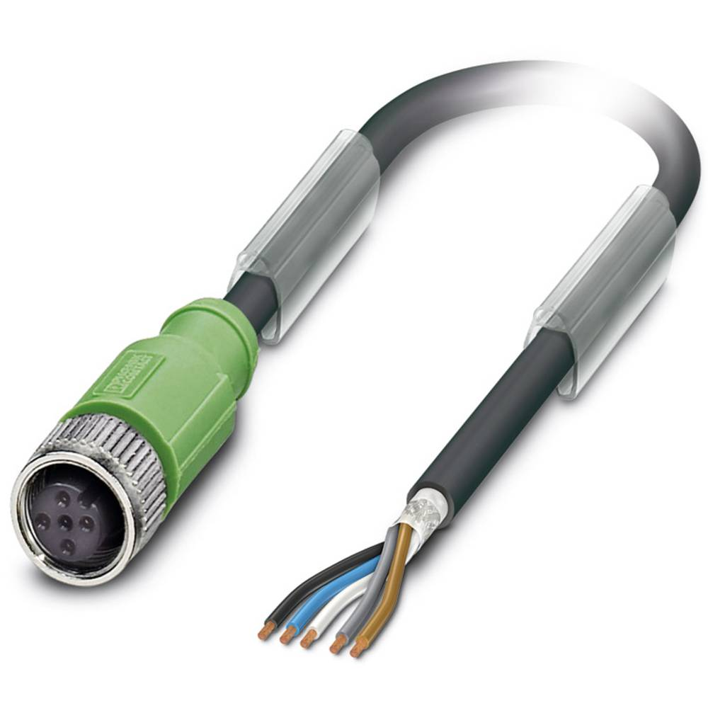 Senzorski/aktuatorski kabel SAC-5P- 1,5-PUR/M12FS SH Phoenix Contact vsebuje: 1 kos