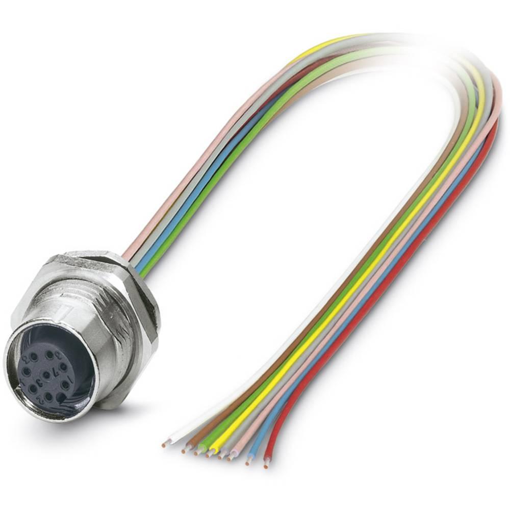 SACC-DSI-M12FS-8CON-M16/0,5 - vgradni vtični konektor, SACC-DSI-M12FS-8CON-M16/0,5 Phoenix Contact vsebuje: 1 kos