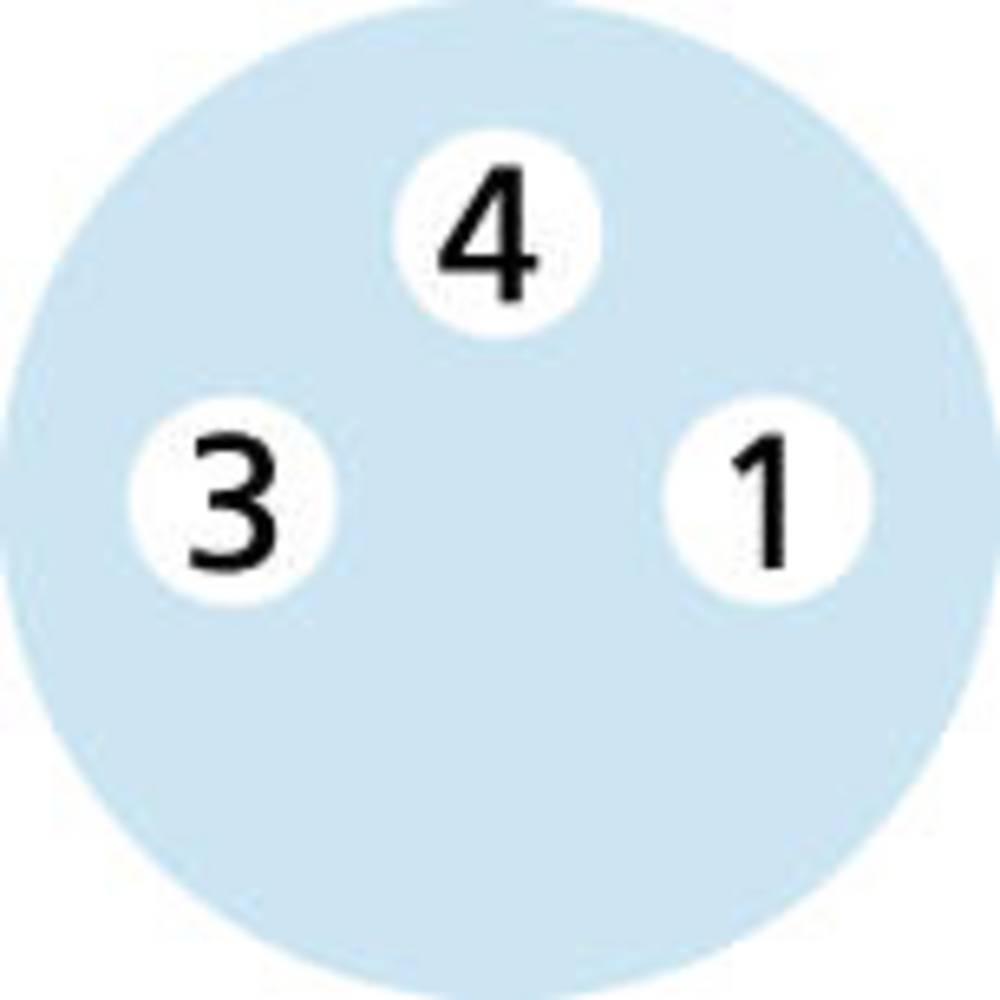M8 Senzorsko-aktuatorski kabel Automation Line št.polov: 3 AL-SWKP3-5/S370 Escha vsebina: 1 kos