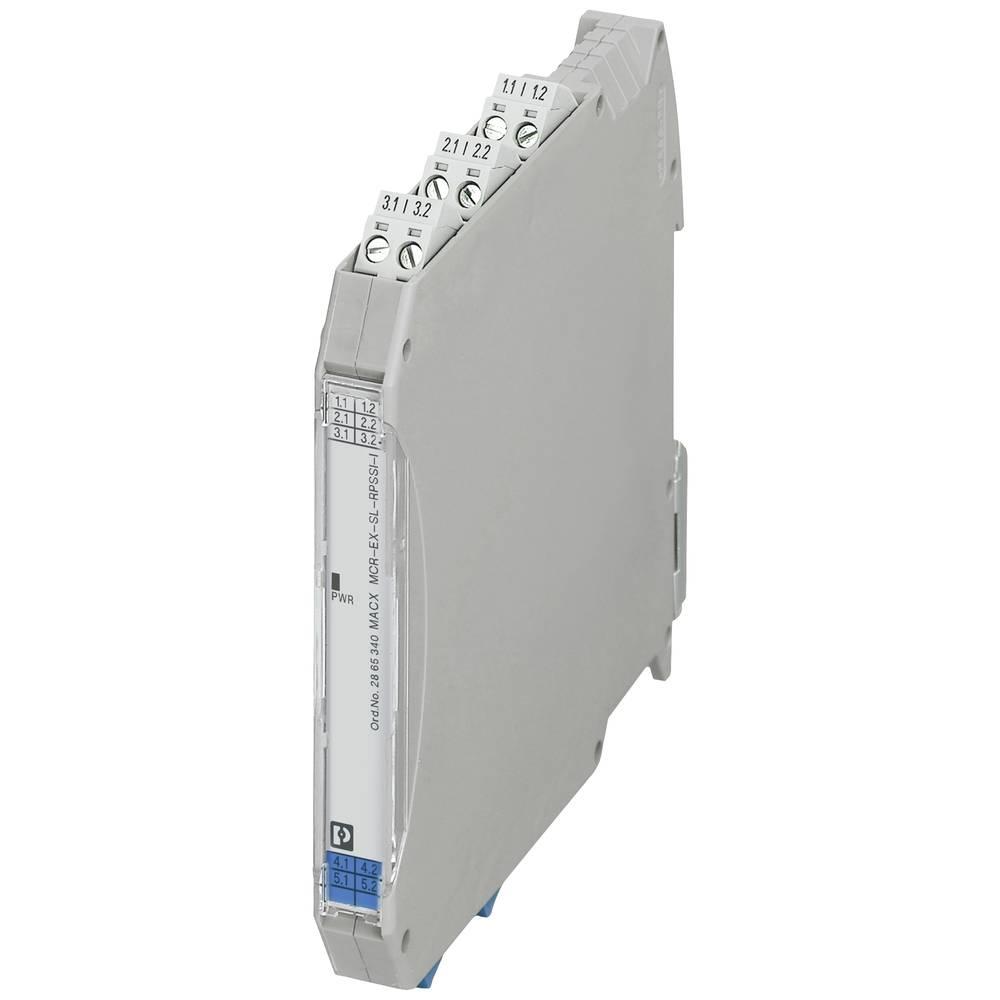 MACX MCR-EX-SL-RPSSI-I - napajalni-/vhodni razdelilni ojačevalnik Phoenix Contact MACX MCR-EX-SL-RPSSI-I kataloška številka 2865