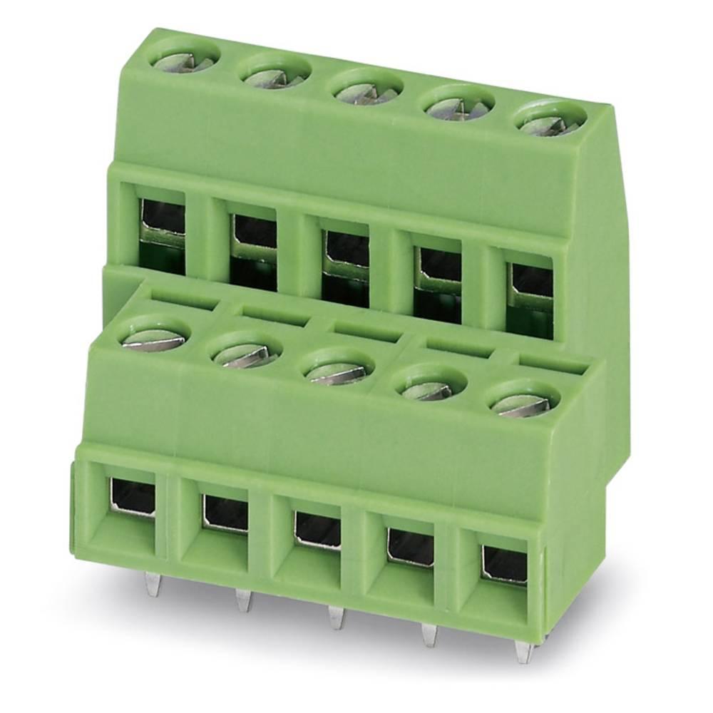 Dobbeltrækkeklemme Phoenix Contact MKKDSN 1,5/10-5,08 1.50 mm² Poltal 20 Grøn 50 stk
