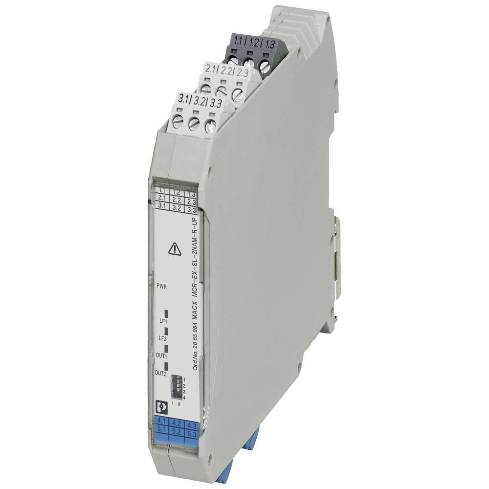 MACX MCR-EX-SL-2NAM-R-UP-SP - ločilni ojačevalnik Phoenix Contact MACX MCR-EX-SL-2NAM-R-UP-SP kataloška številka 2924249 1 kos