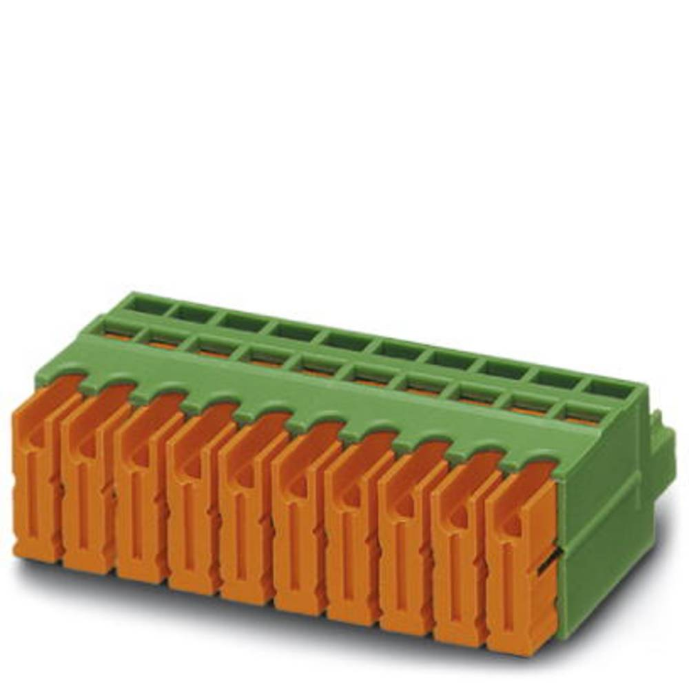 Tilslutningskabinet-kabel MVSTBR Samlet antal poler 18 Phoenix Contact 1896721 Rastermål: 5.08 mm 50 stk