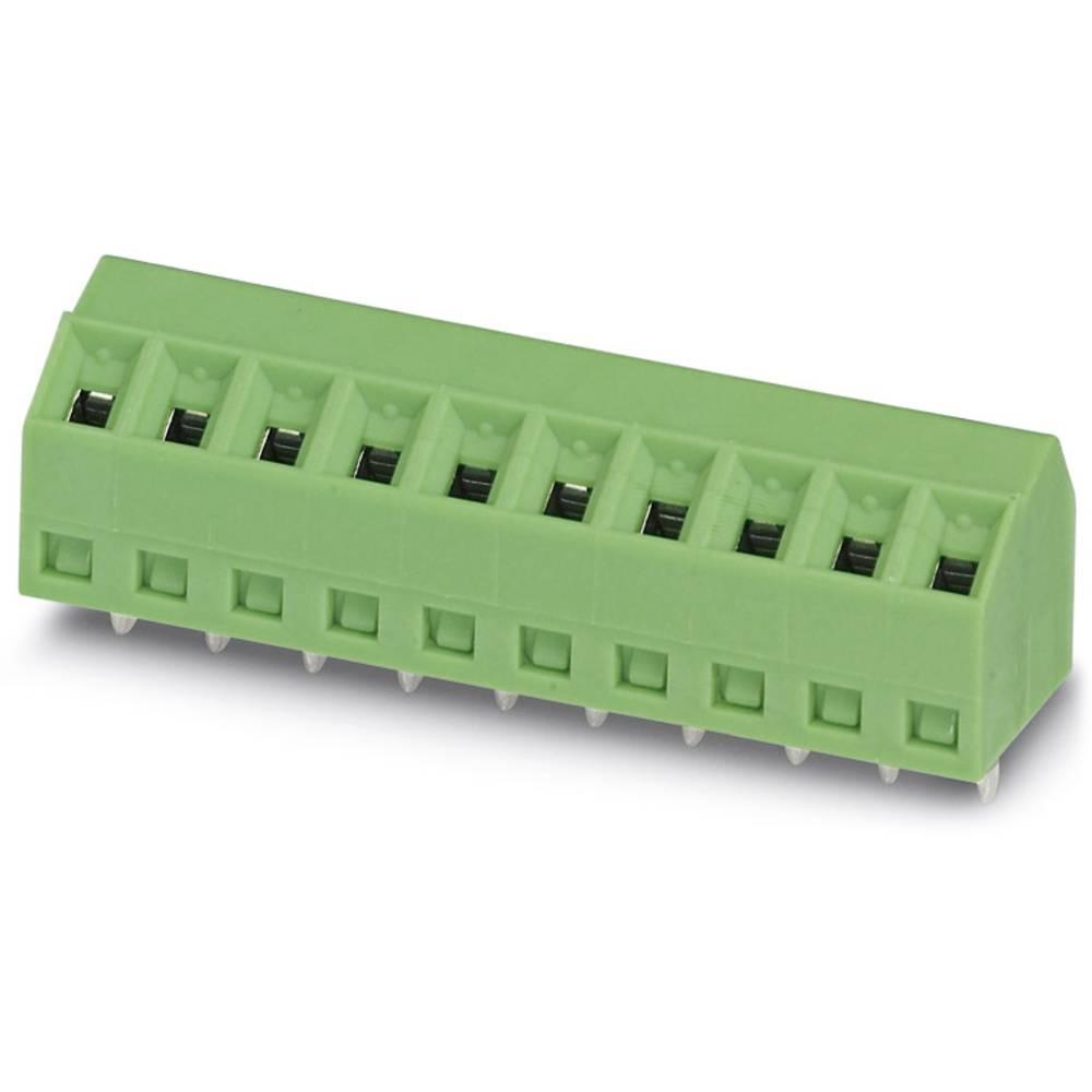 Skrueklemmeblok Phoenix Contact SMKDS 1/ 9-3,5 1.00 mm² Poltal 9 Grøn 100 stk