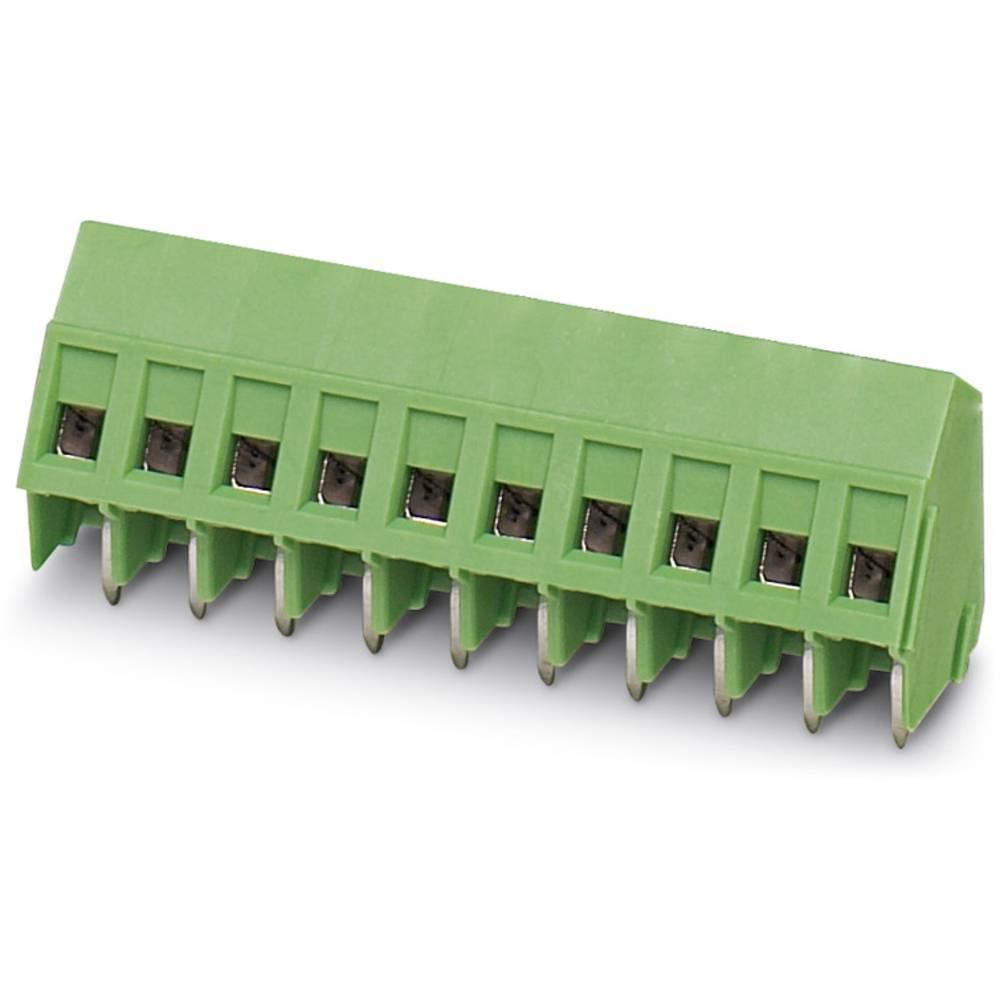 Skrueklemmeblok Phoenix Contact SMKDSP 1,5/ 6-5,08 1.50 mm² Poltal 6 Grøn 50 stk