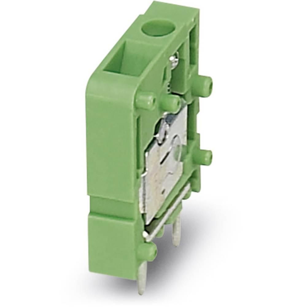 Skrueklemmeblok Phoenix Contact FRONT 2,5-V/SA10 2.50 mm² Poltal 1 Grøn 50 stk