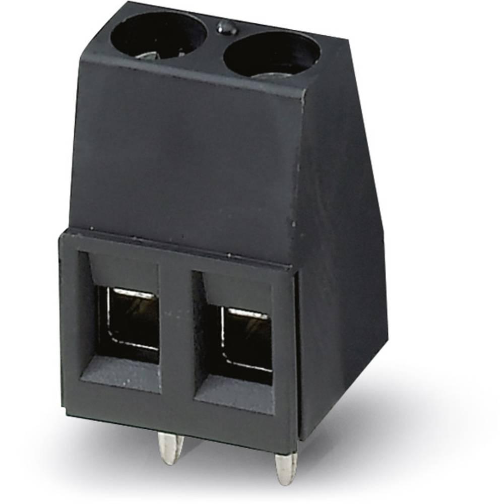 Skrueklemmeblok Phoenix Contact MKDS 1,5/ 2-5,08 HT BK 1.50 mm² Poltal 2 Sort 50 stk
