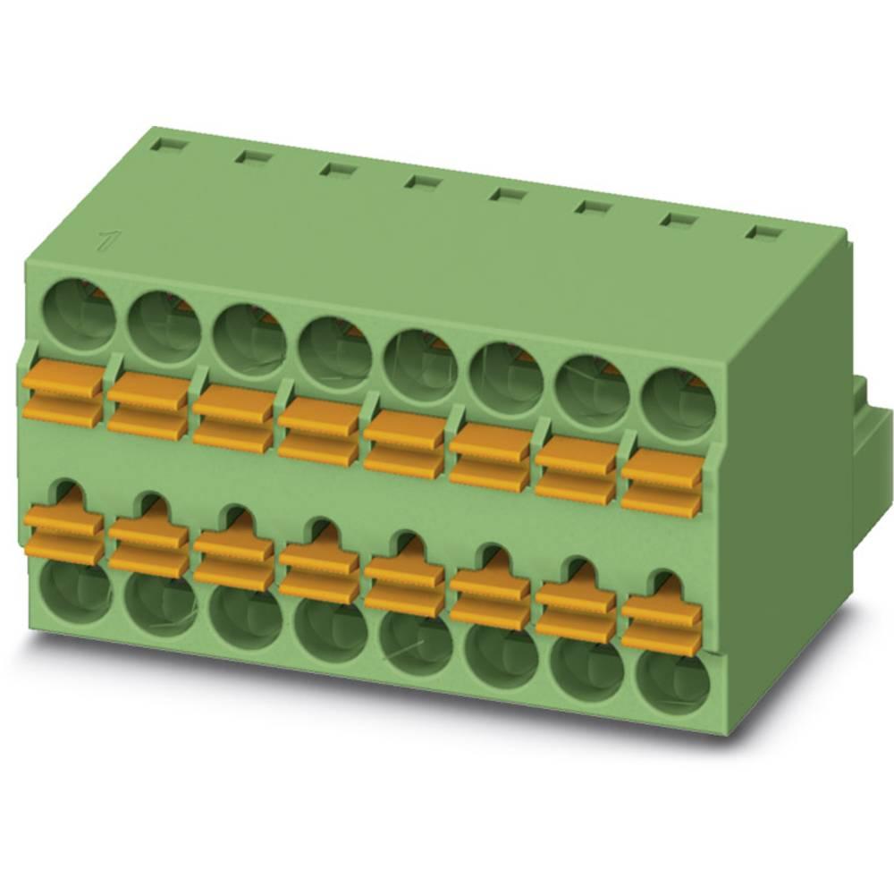Tilslutningskabinet-kabel TFMC (value.1360632) Samlet antal poler 2 Phoenix Contact 1772634 Rastermål: 3.50 mm 50 stk