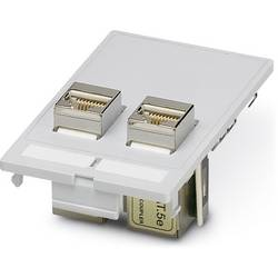 VS-SI-FP-2RJ45-5-MOD-BU / BU - data frontplade Phoenix Contact VS-SI-FP-2RJ45-5-MOD-BU/BU 1 stk