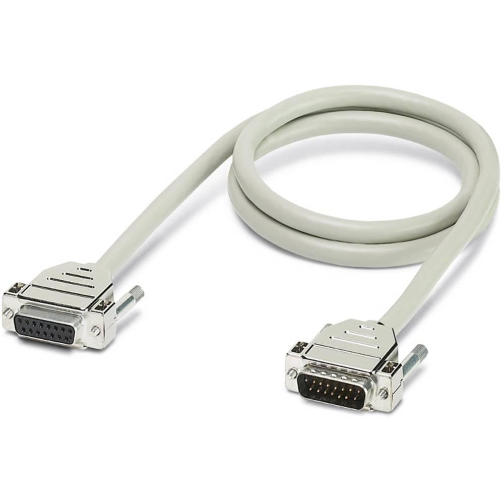 CABLE-D15SUB/B/S/300/KONFEK/S - Kabel CABLE-D15SUB/B/S/300/KONFEK/S Phoenix Contact vsebina: 1 kos