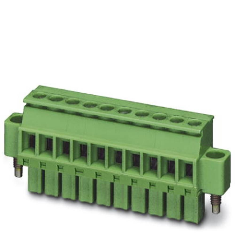 Tilslutningskabinet-kabel MCVW (value.1361020) Samlet antal poler 7 Phoenix Contact 1863055 Rastermål: 3.50 mm 50 stk