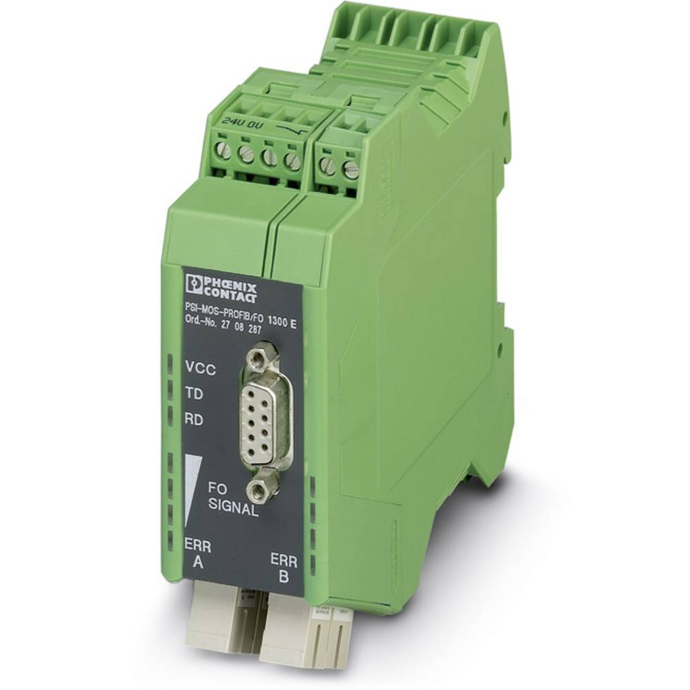 Pretvornik za optiko Phoenix Contact PSI-MOS-PROFIB/FO1300 T Pretvornik za optiko