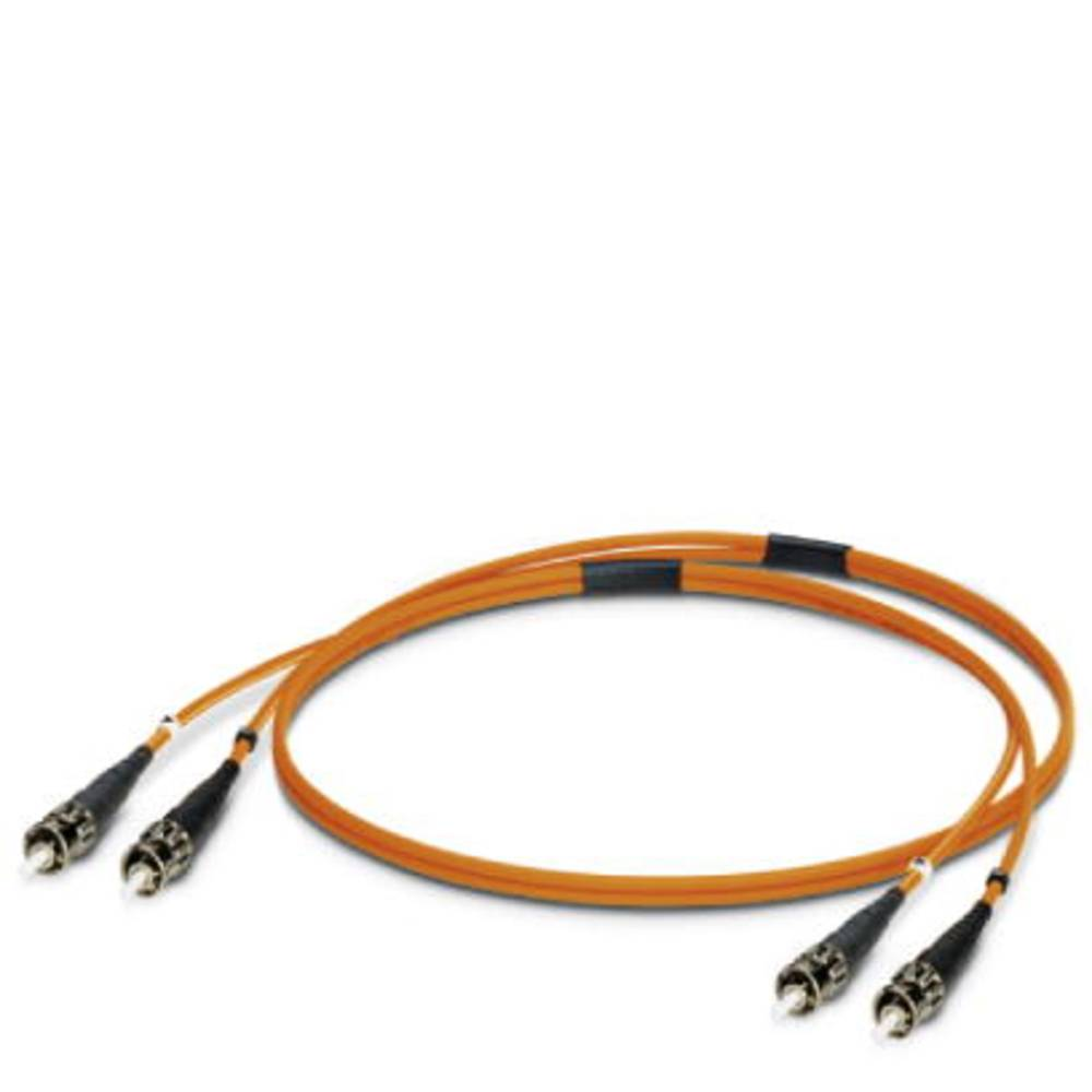 Optični priključni kabel [1x ST vtič - 1x ST vtič] 50/125µ Multimode OM2 2 m Phoenix Contact