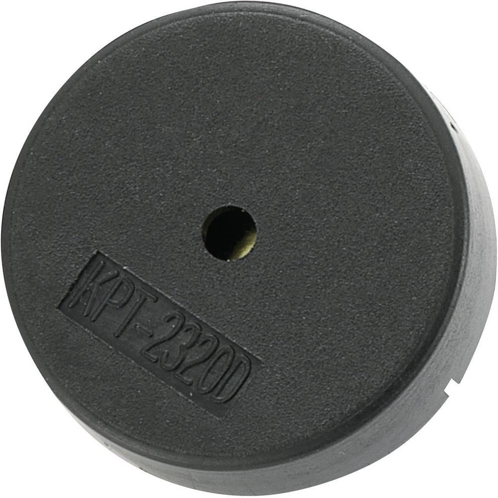 Piezo brenčalo serije KP, hrup: 78 dB, 12 V/AC, poraba toka:: 78 dB, 12 V/AC, poraba toka: KPT-G2320D-K8441 KEPO