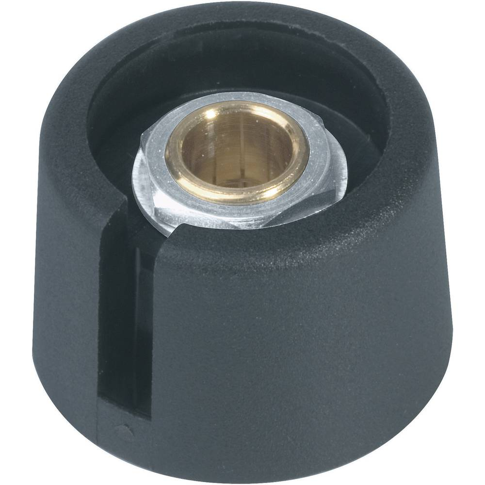 OKW Gumb serije COM-KNOBs A3020069 crna promjer osi 6 mm