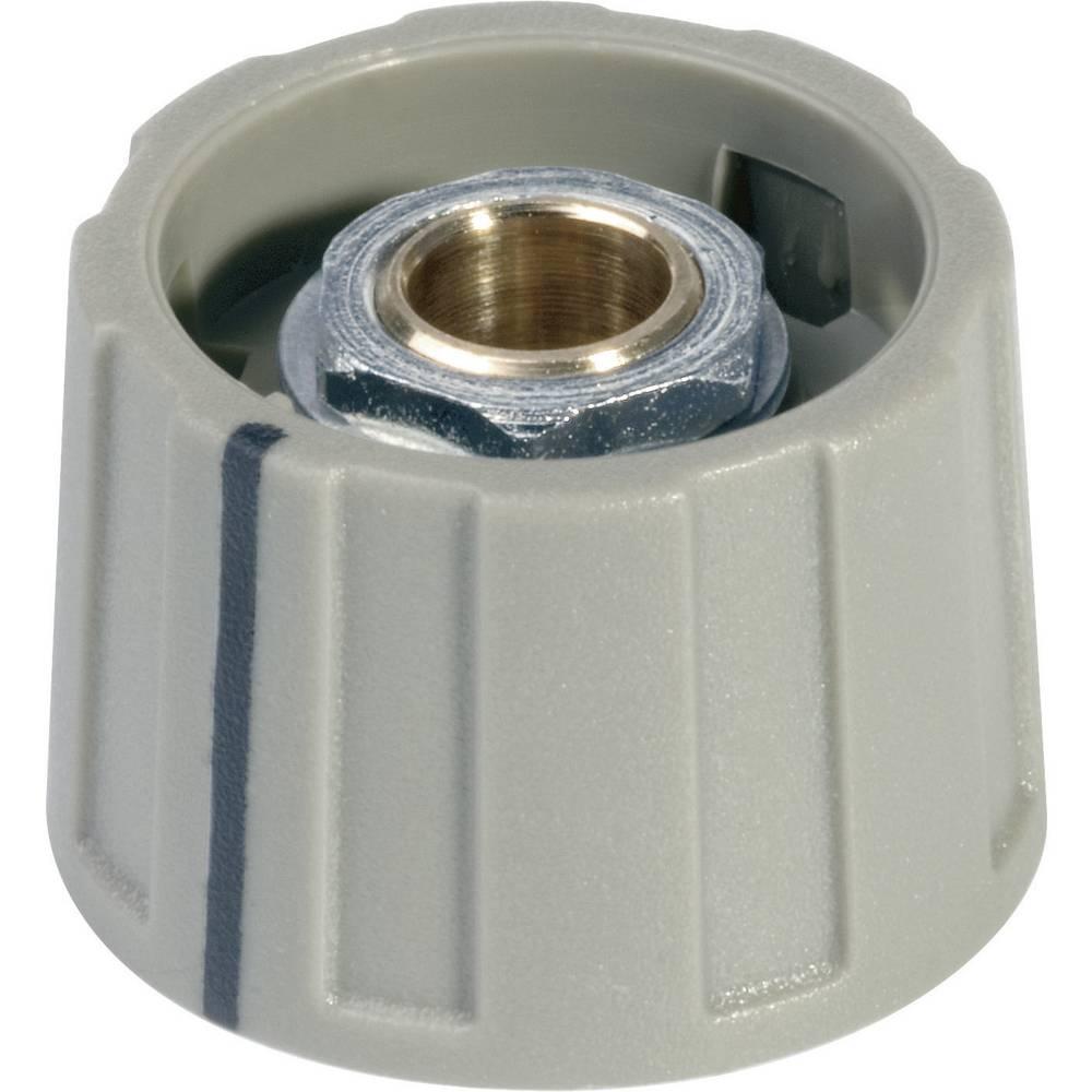 OKW Okrugli gumb promjera 40 mmsivi promjer osi 6 mm